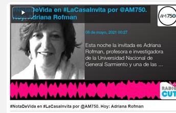 """Territorios en Acción en  """"La Casa Invita"""" de la AM750"""